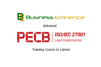 PECB Certified ISO 27001 Lead Implementer Course Delivered in Lahore